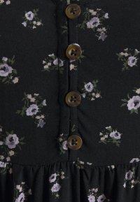 Hollister Co. - PRINT SHORT DRESS - Day dress - black ground - 2