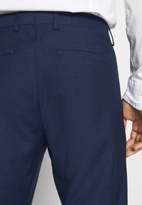 Tommy Hilfiger Tailored - MACRO SLIM FIT SEPARATE - Trousers - blue - 4