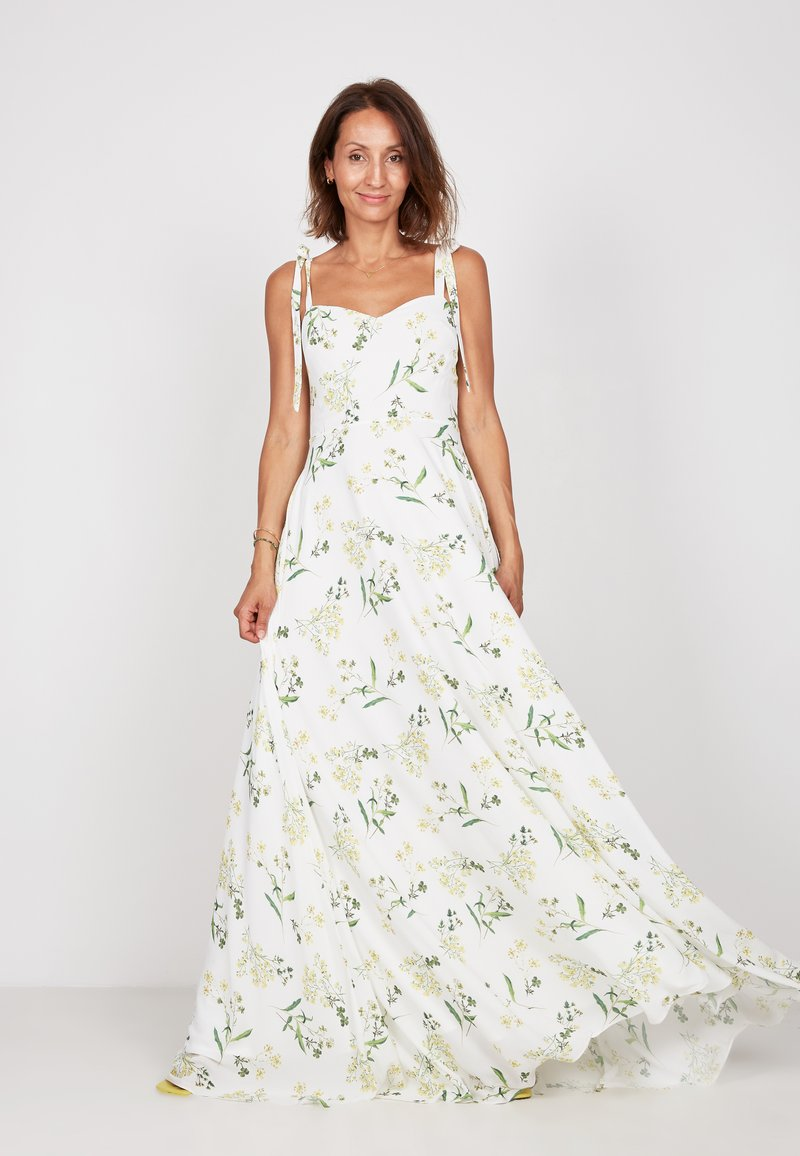 True Violet - Maxi dress - white