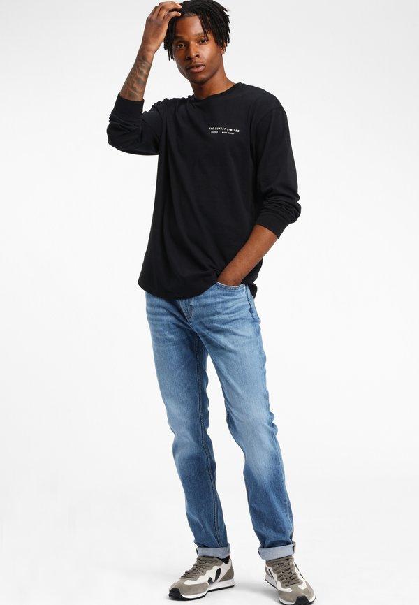 Lee RIDER - Jeansy Straight Leg - dark blue/granatowy Odzież Męska RDVO