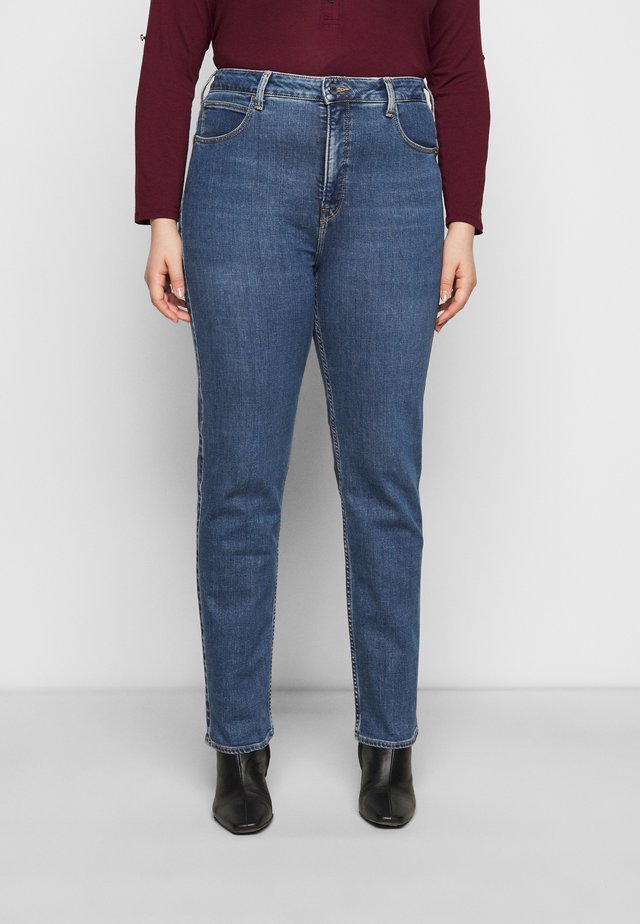 CLASSIC STRAIGHT PLU - Jeans a sigaretta - mid quartz