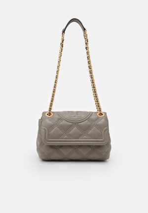 FLEMING SOFT SMALL CONVERTIBLE SHOULDER BAG - Handbag - gray heron