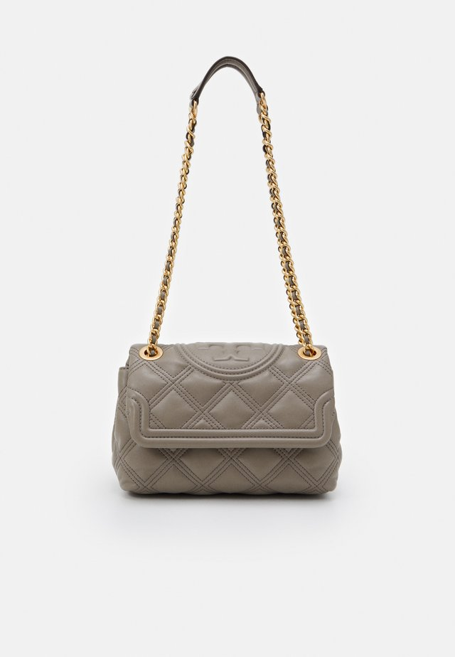 FLEMING SOFT SMALL CONVERTIBLE SHOULDER BAG - Borsa a mano - gray heron