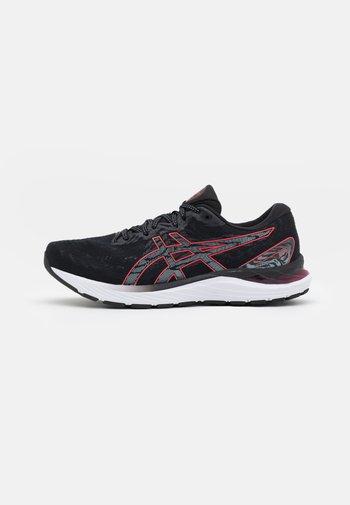 GEL CUMULUS 23 - Neutrální běžecké boty - black/electric red