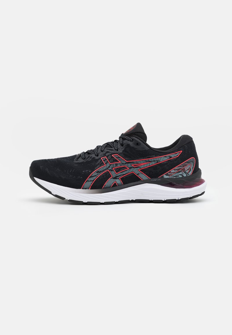 ASICS - GEL CUMULUS 23 - Neutral running shoes - black/electric red