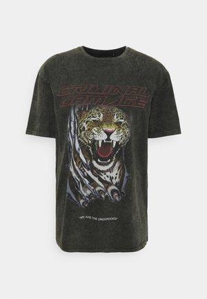 UNDERDOGS TEE - T-shirts print - black