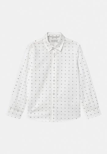 SMALL MONOGRAM - Shirt - white
