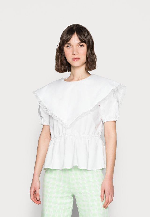EDMEE BLOUSE - Blouse - white