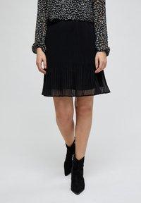 Minus - RIKKA - A-line skirt - black - 0