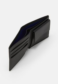 Le Tanneur - CHARLES BOX WITH KEY RING AND WALLET FLAP POCKET SET - Portfel - noir - 4