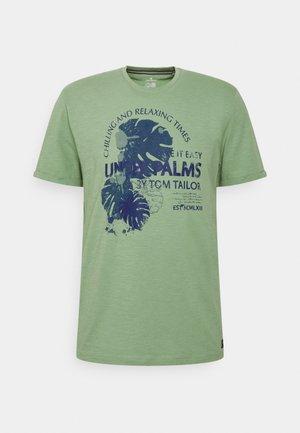 SUMMER - T-shirt z nadrukiem - light mint green