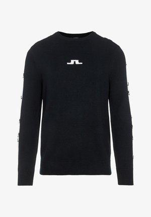 LUKE - Print T-shirt - black
