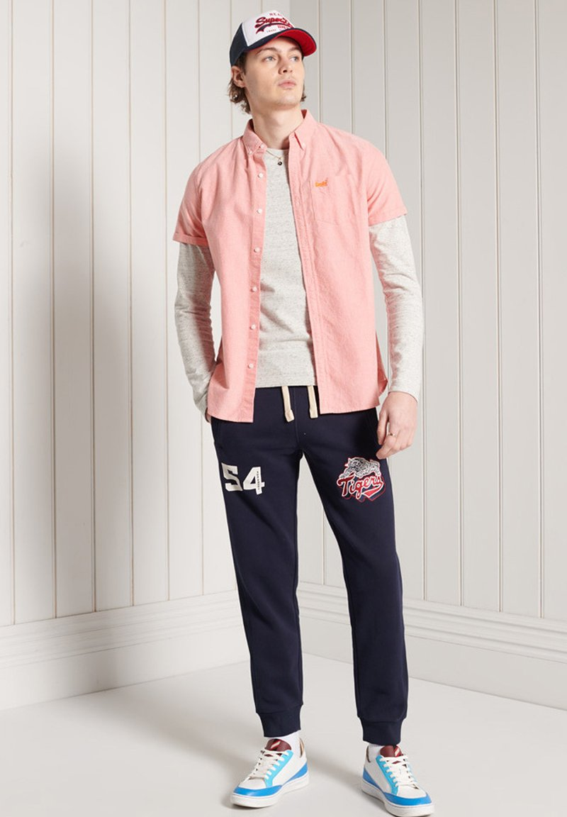 Superdry - Tracksuit bottoms - nautical navy