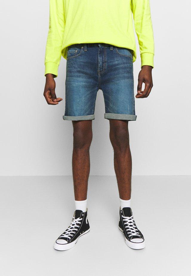 ARLES  - Denim shorts - blue