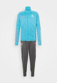 REAL MADRID AEROREADY FOOTBALL TRACKSUIT SET - Club wear - brcyan
