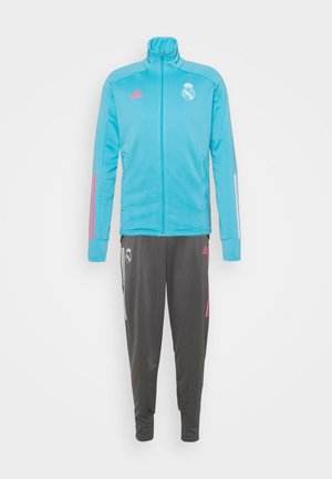 REAL MADRID AEROREADY FOOTBALL TRACKSUIT SET - Fanartikel - brcyan