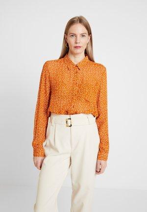 ABIA - Button-down blouse - pumpkin spice