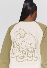 Burton - KEELER CREW - Bluza - khaki - 5