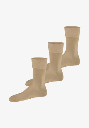 3 PACK - Sokken - leinen