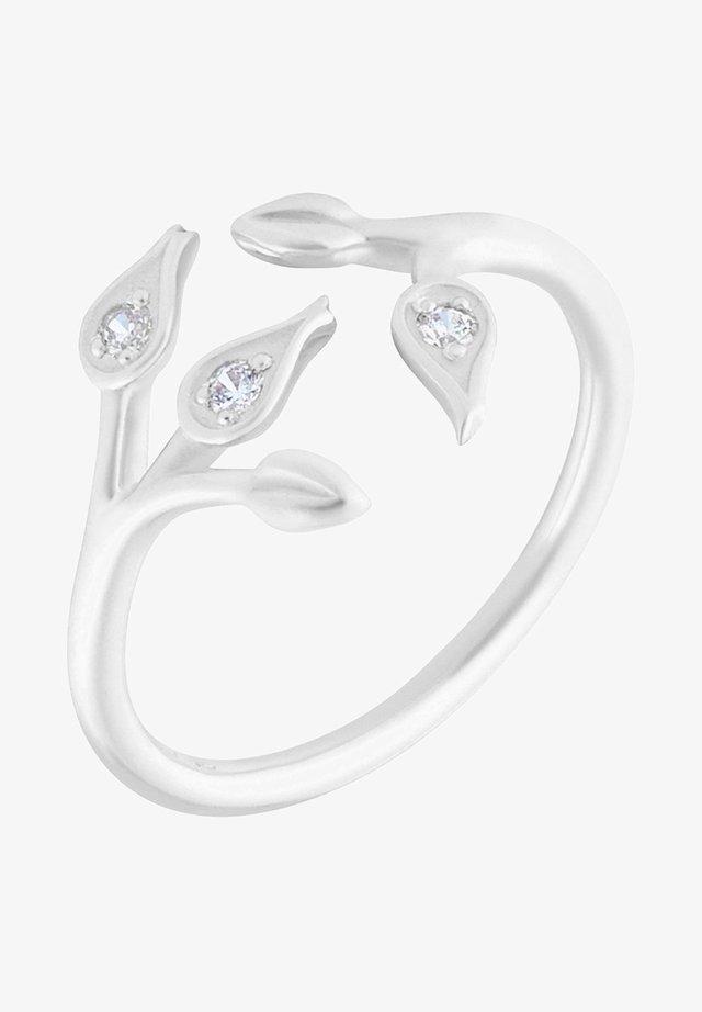 MAGNOLIEN - Ring - rhodium