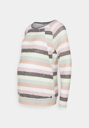 SWEATER NURSING STRIPED - Neule - dessin