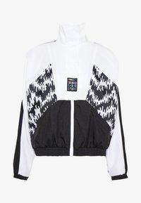 TRACK JACKET - Sportovní bunda - black
