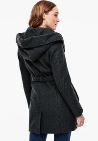 s.Oliver - MIT KAPUZE - Trenchcoat - dark grey melange - 2