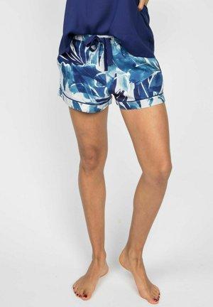 ELLIE - Pyjamahousut/-shortsit - blue floral print