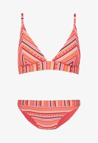 TRIANGLE BIKINI - Bikini top - orange