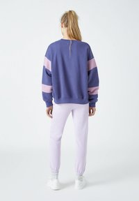 PULL&BEAR - Sweatshirt - mottled purple