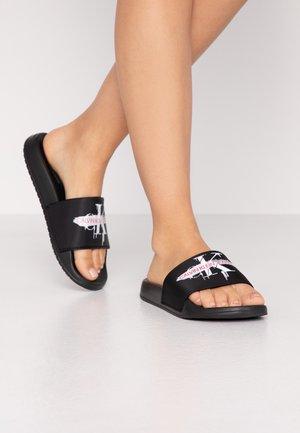 CASSIOPEA - Pantofle - black