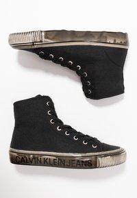 Calvin Klein Jeans - DELORIS - Sneakers high - black - 3