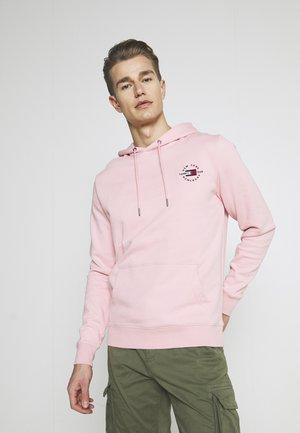 CIRCLE CHEST HOODY - Sweat à capuche - glacier pink