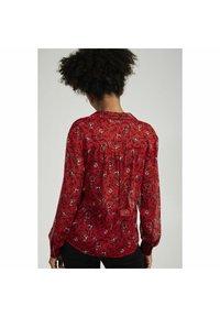 NAF NAF - Button-down blouse - red - 2