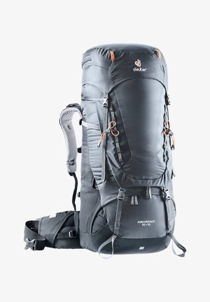 "DEUTER TREKKINGRUCKSACK ""AIRCONTACT 55 + 10"" - Hiking rucksack - gray"