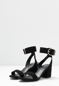 Even&Odd Wide Fit - WIDE FIT - Sandalias - black
