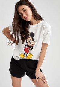 DeFacto - DISNEY - Print T-shirt - white - 0