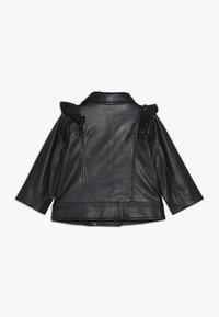 Bardot Junior - JACKET - Faux leather jacket - black - 1