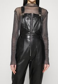 Missguided - DUNGAREE - Overal - black - 5