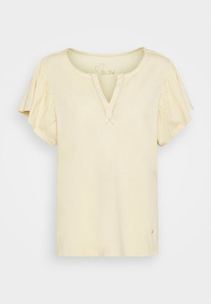 SHELLY FLOUNCE TEE - T-shirt con stampa - charmomile