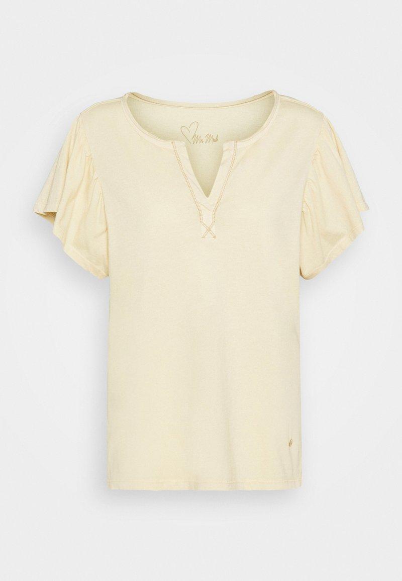 Mos Mosh - SHELLY FLOUNCE TEE - Print T-shirt - charmomile