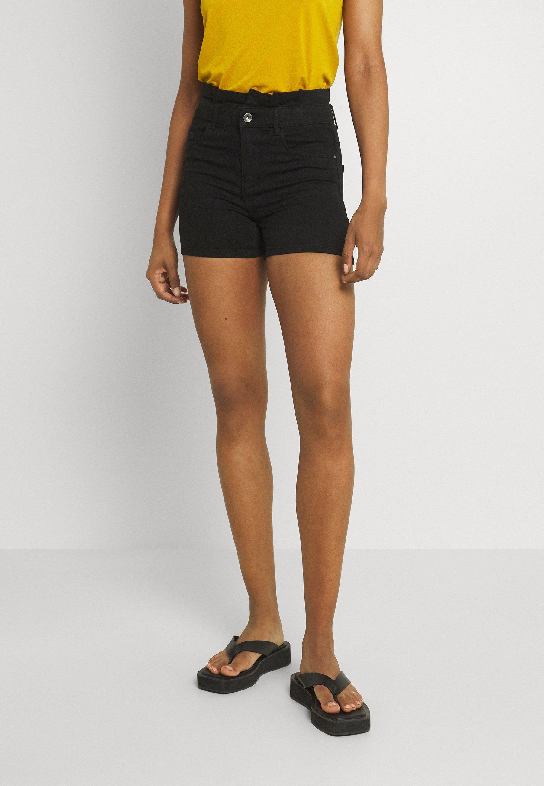 Women ONLRAIN LIFE MID PAPERBAG - Shorts