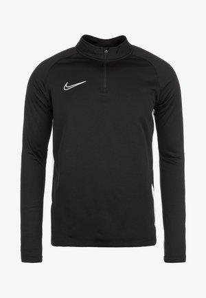 DRY ACADEMY - Sports shirt - black/white