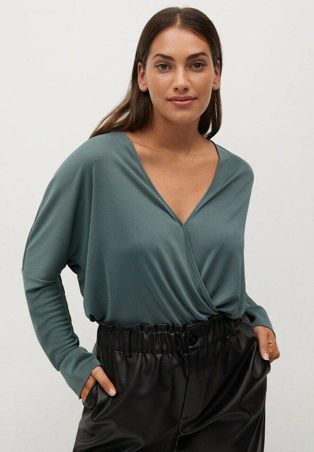 BLACK - T-shirt à manches longues - bosgroen