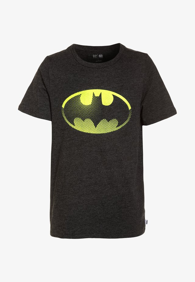 DC COMICS BATMAN BOYS SHIELD TEE - T-shirts print - true black