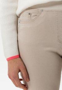 BRAX - STYLE PAMINA - Trousers - sand - 3