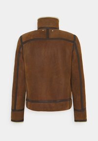 PS Paul Smith - JACKET - Leather jacket - brown - 1