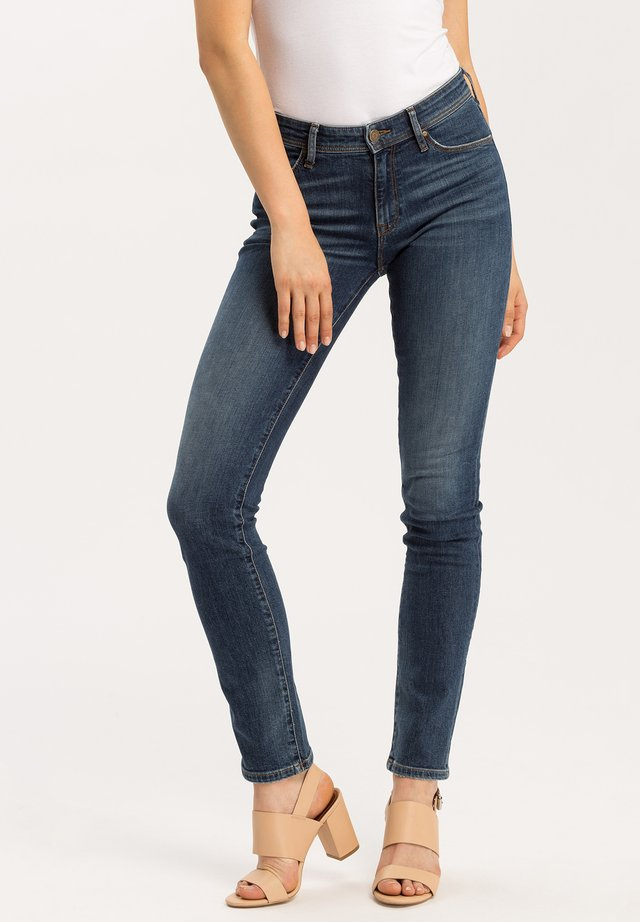 ANYA - Slim fit jeans - dark-blue