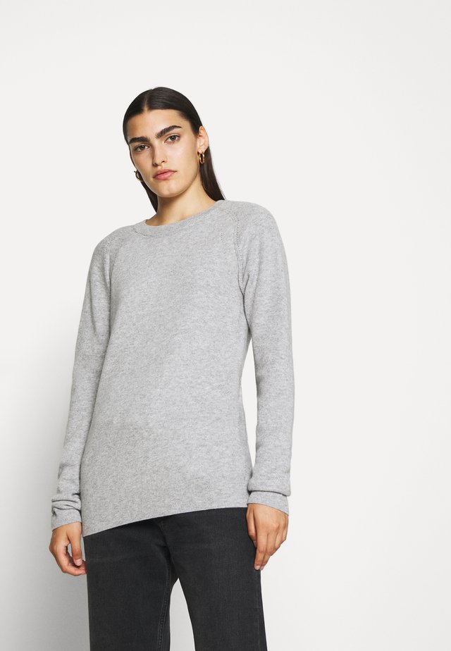 WOMEN - Pullover - light grey melange