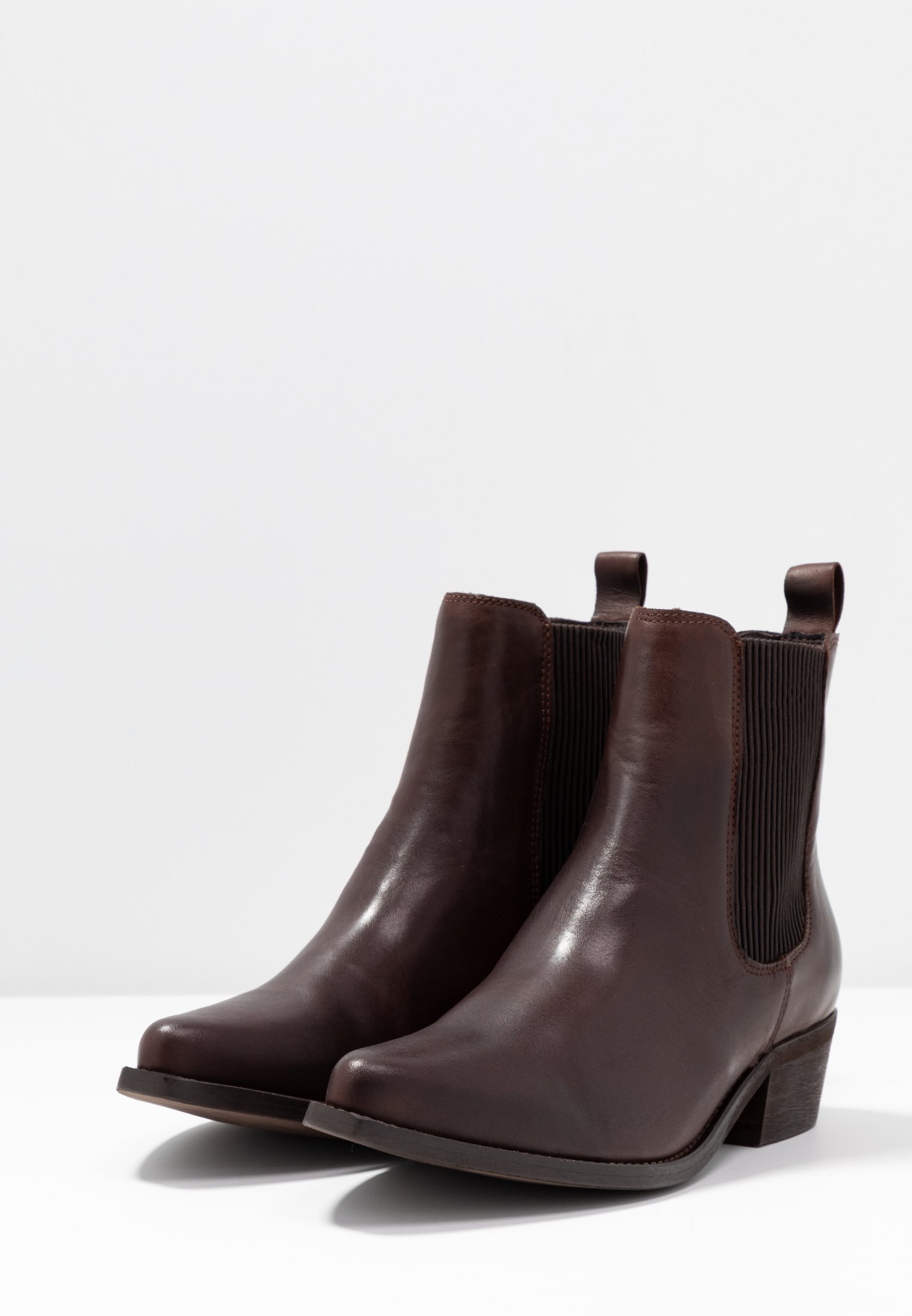 Perfect Cheapest Bianco BIACOCO CHELSEA WESTERN - Classic ankle boots - dark brown   women's shoes 2020 90JGj